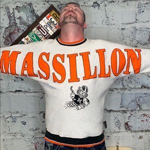 Vintage Massillon Tigers sweatshirt L